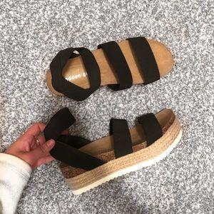 Steven Madden Platform Sandals